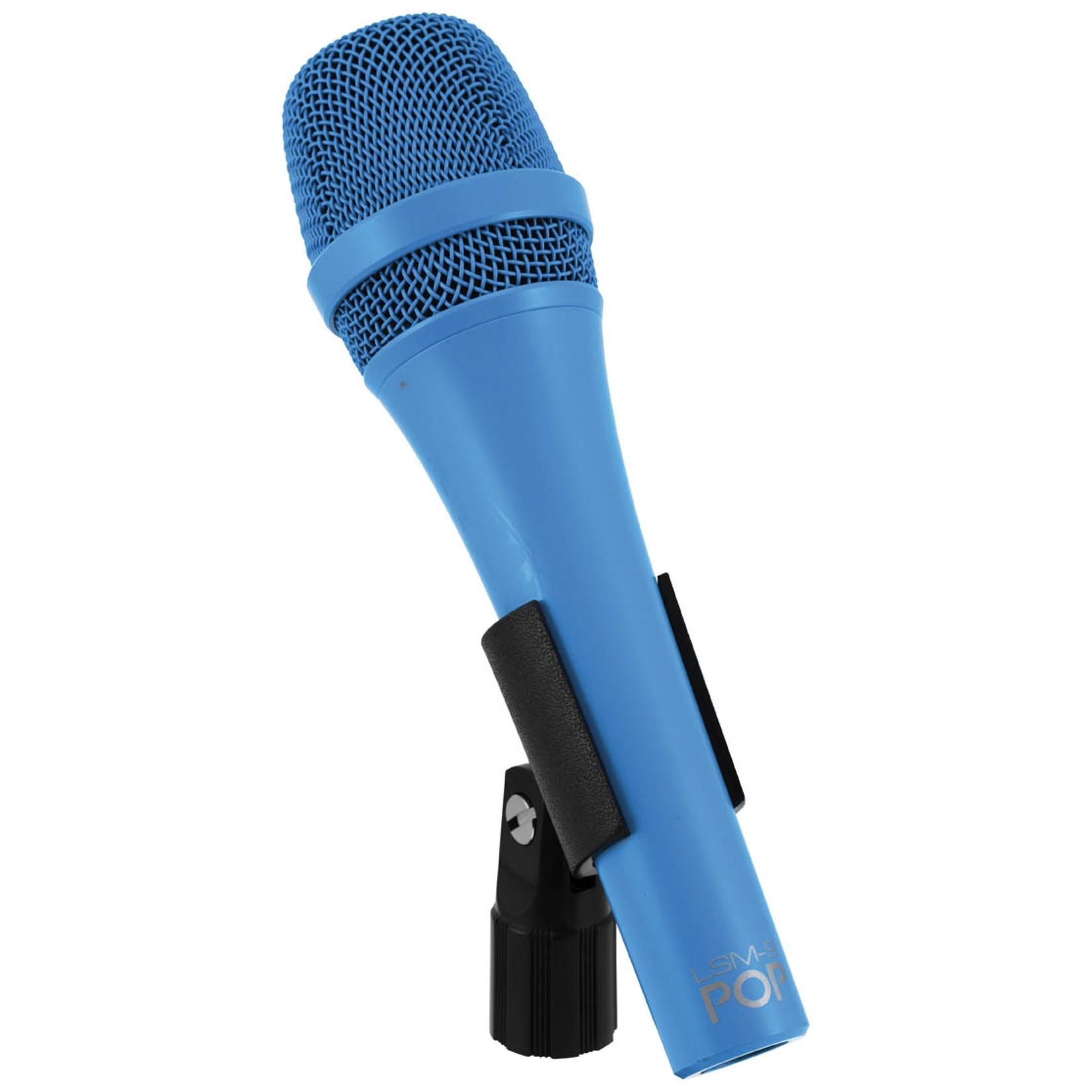 MXL MXL POP LSM-9 Premium Dynamic Vocal Microphone, Blue