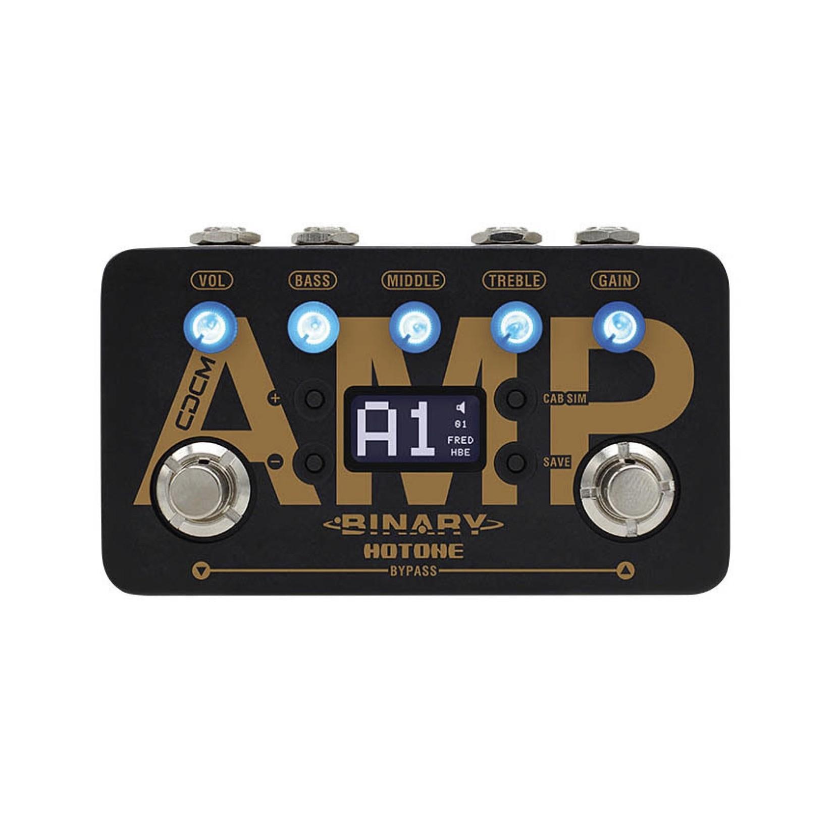 Hotone Hotone Binary AMP CDCM Amplifier Simulator Effects Pedal