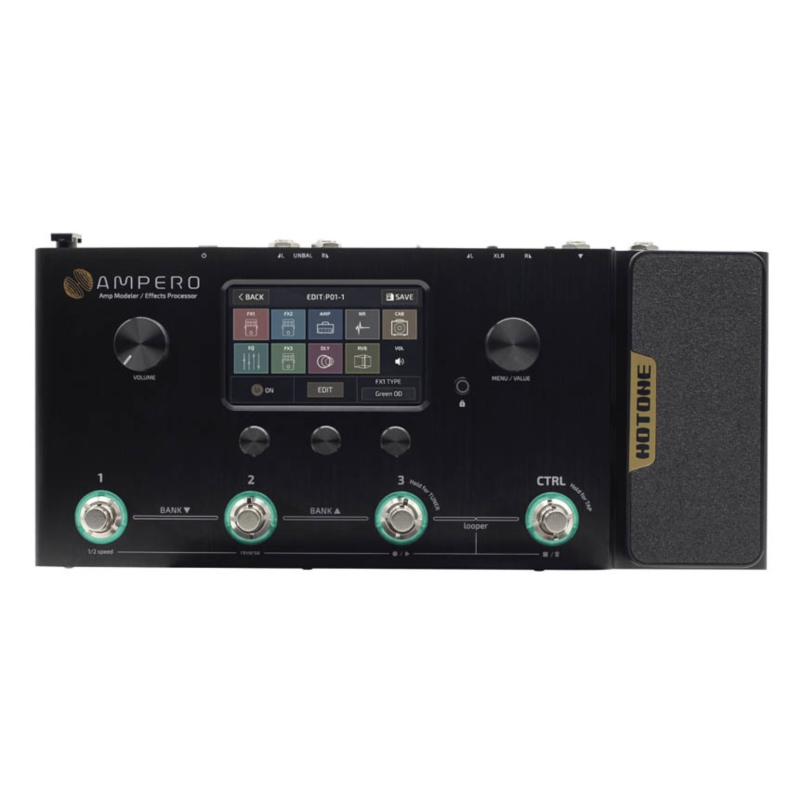 Hotone Hotone Ampero - Amp Modeler / Effects Processor