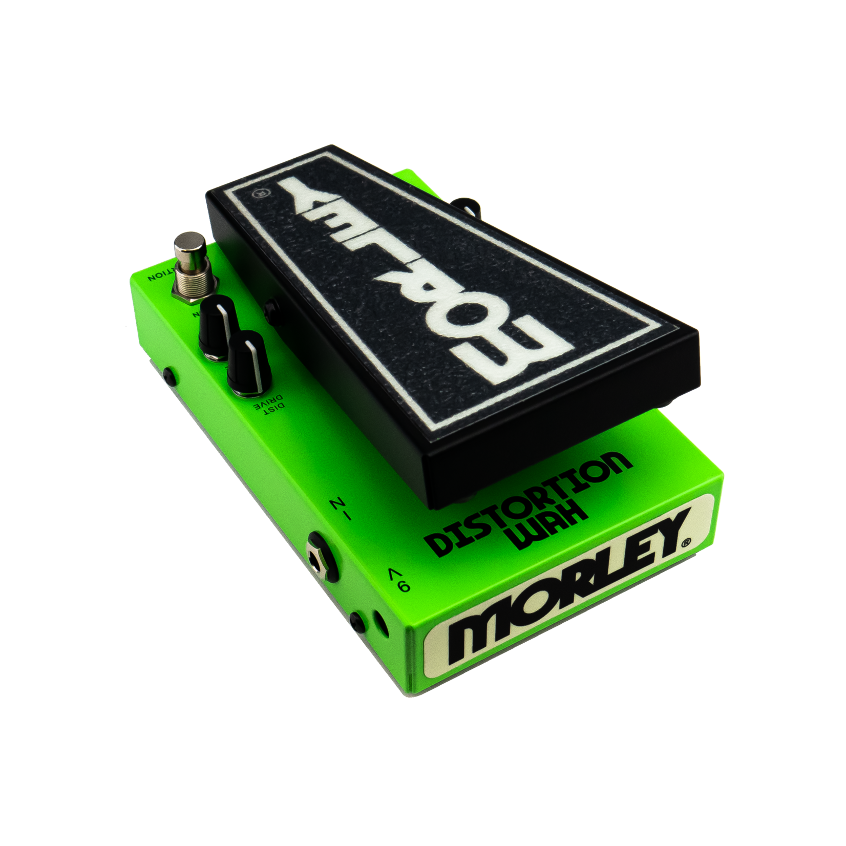 Morley Morley 20/20 Distortion Wah - classic tone combo with switchless activation, optical circuit, buffer