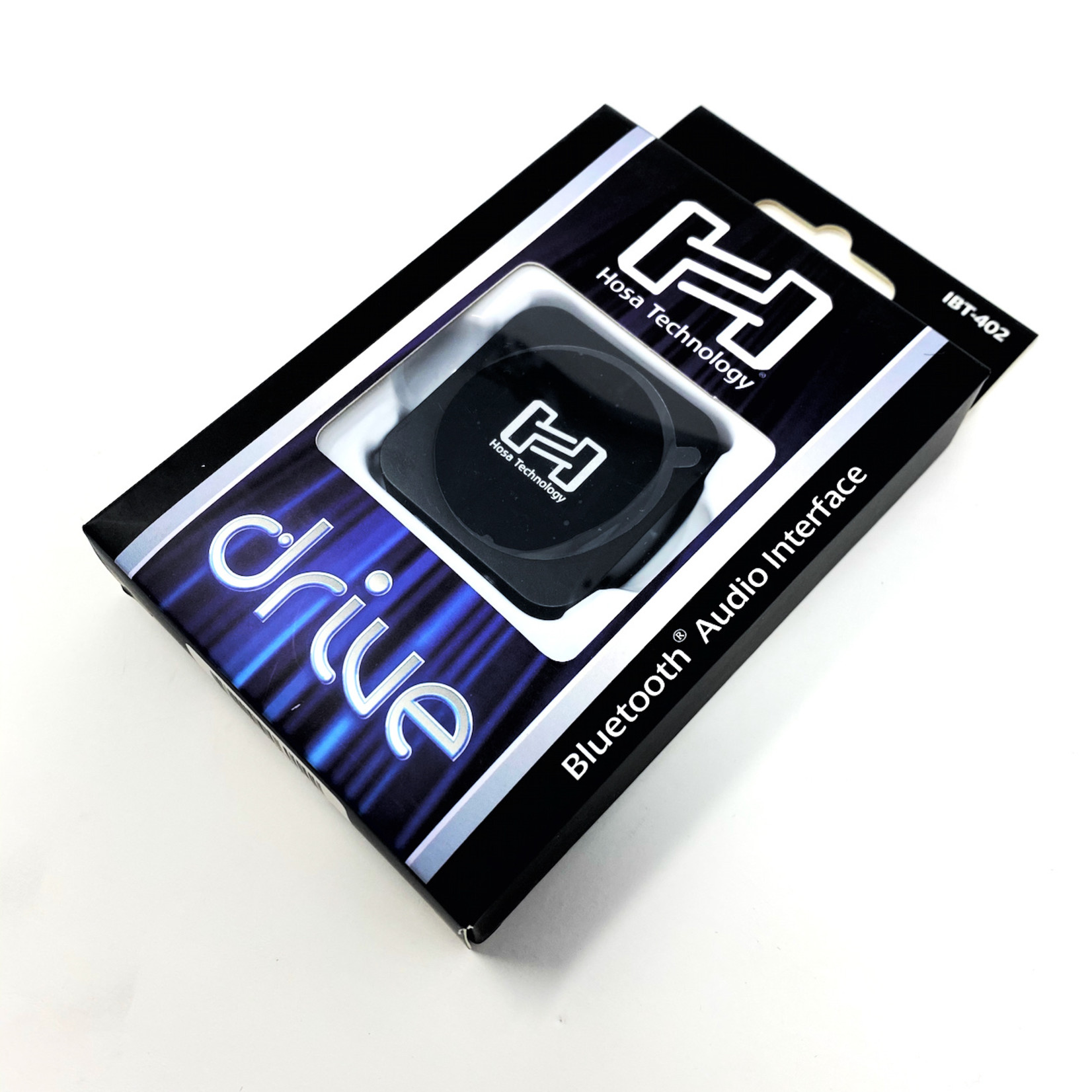 Hosa Hosa Drive Bluetooth Audio Interface, Transmitter/Receiver, Stereo 3.5 mm TRS Jack (IBT-402)