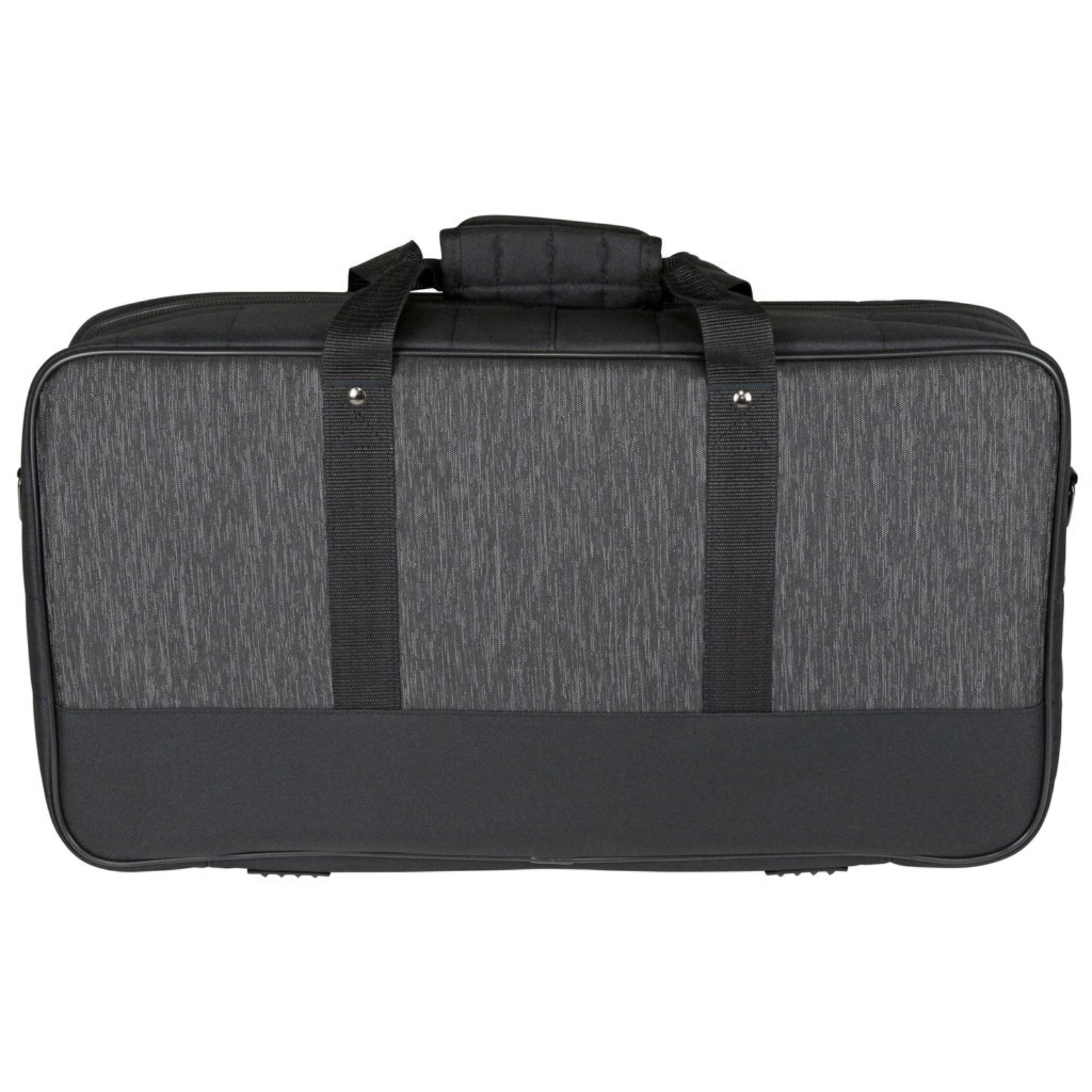 "Kaces Kaces Luxe Keyboard & Gear Bag, 25-Note, Large, Heathered Charcoal/Black (22.5"" x 12"" x 4""), KB2512"