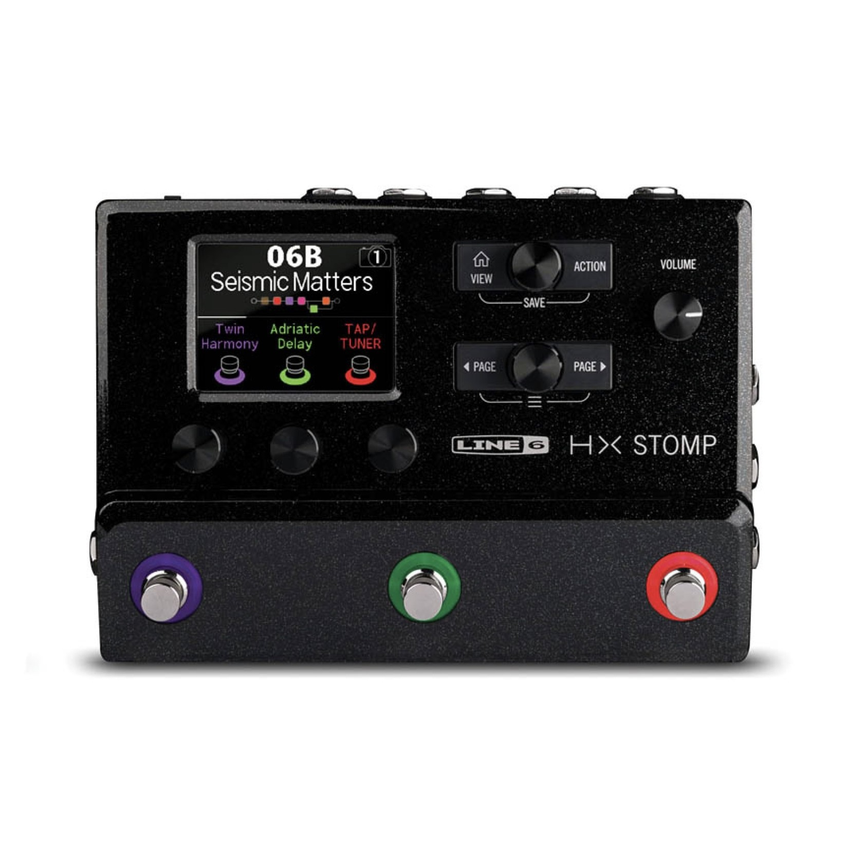 Line 6 Line 6 HX Stomp Multi-Effects, Compact Professional Guitar Processor (for guitar or bass)