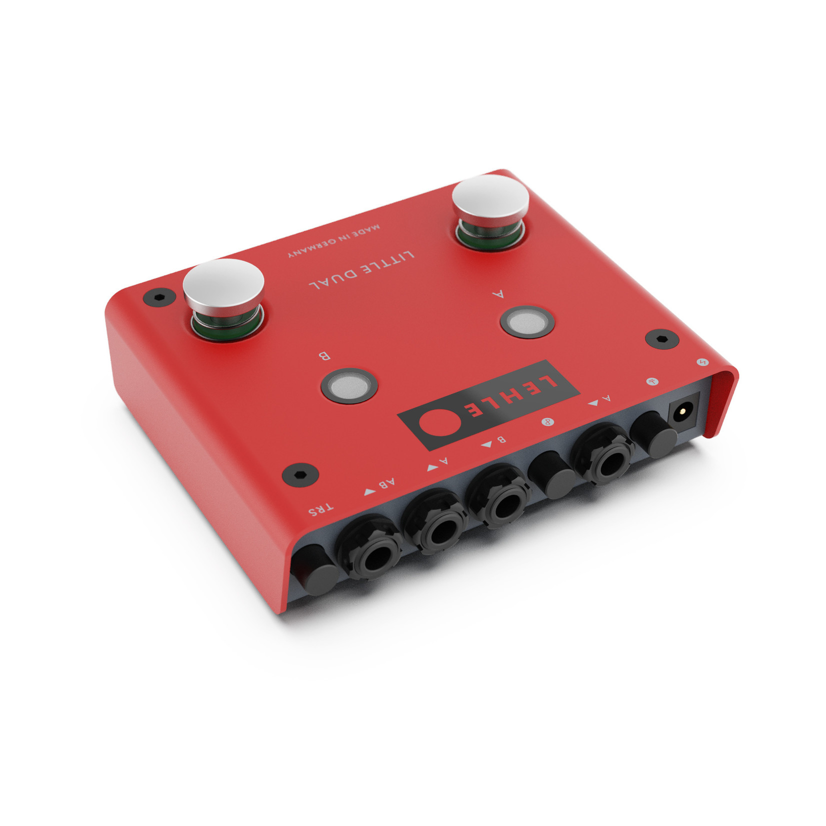 Lehle Lehle Little Dual II ABY switcher (A or B or both), Made in Germany (Latest Version!)