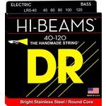 DR Strings DR Strings LR5-40 Light 5's Hi-Beam Stainless Steel (Round Core) Bass Strings