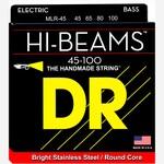 DR Strings DR Strings MLR-45 Hi-Beams 45-100 Electric Bass Strings