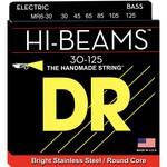 DR Strings DR Strings HI-BEAMª - Stainless Steel Bass Strings: 6-String Medium 30-125, MR6-30