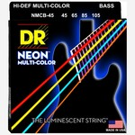 DR Strings DR Strings NMCB-45 Hi-Def Neon Multi-Color Bass Strings