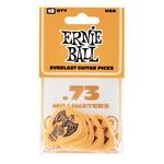 Ernie Ball Ernie Ball .73mm Orange Everlast Picks 12-pack