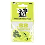 Ernie Ball Ernie Ball .88mm Green Everlast Picks 12-pack