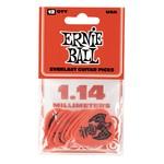Ernie Ball Ernie Ball 1.14mm Red Everlast Picks 12-Pack (P09194)