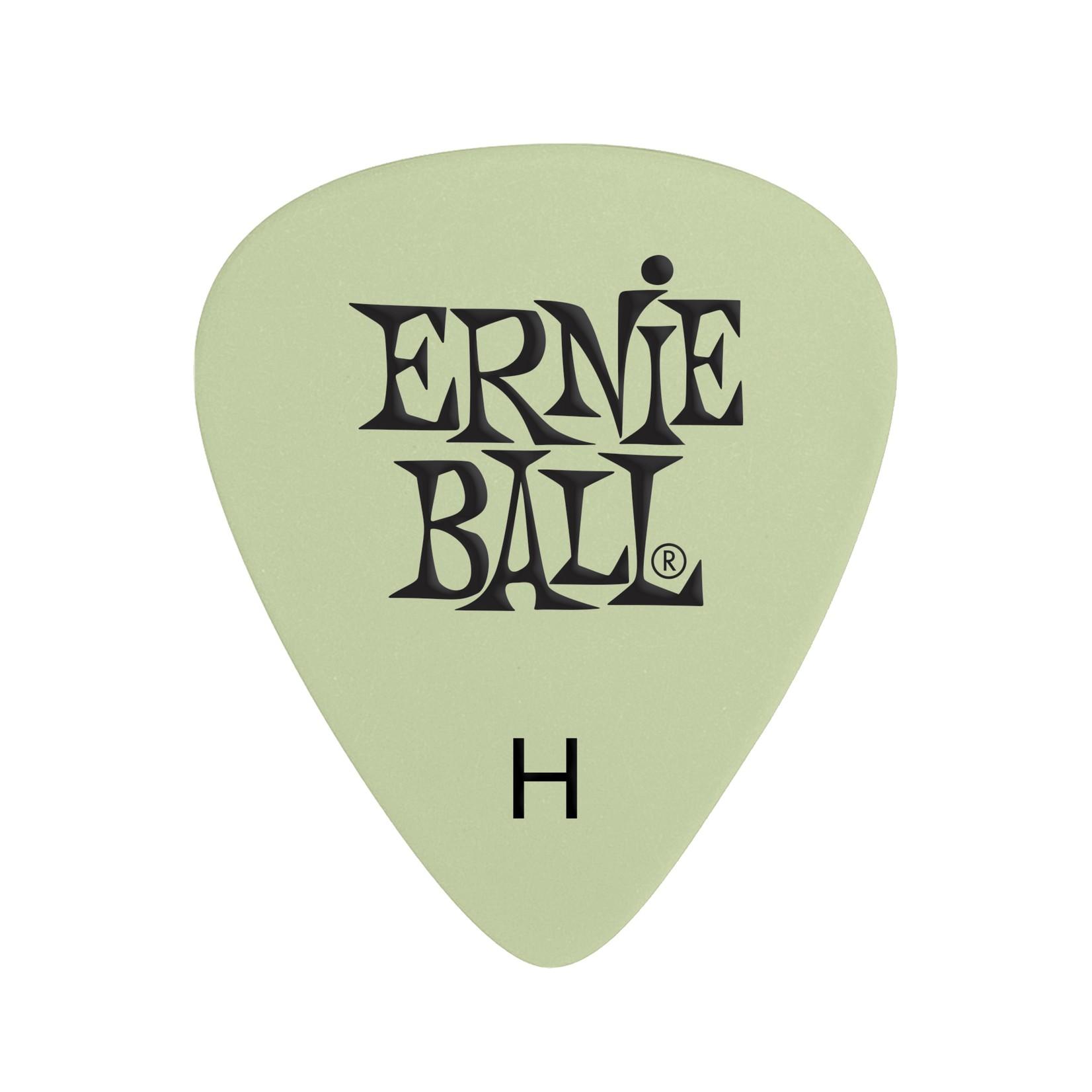 Ernie Ball Ernie Ball Super Glow Cellulose Picks Heavy 12-pack