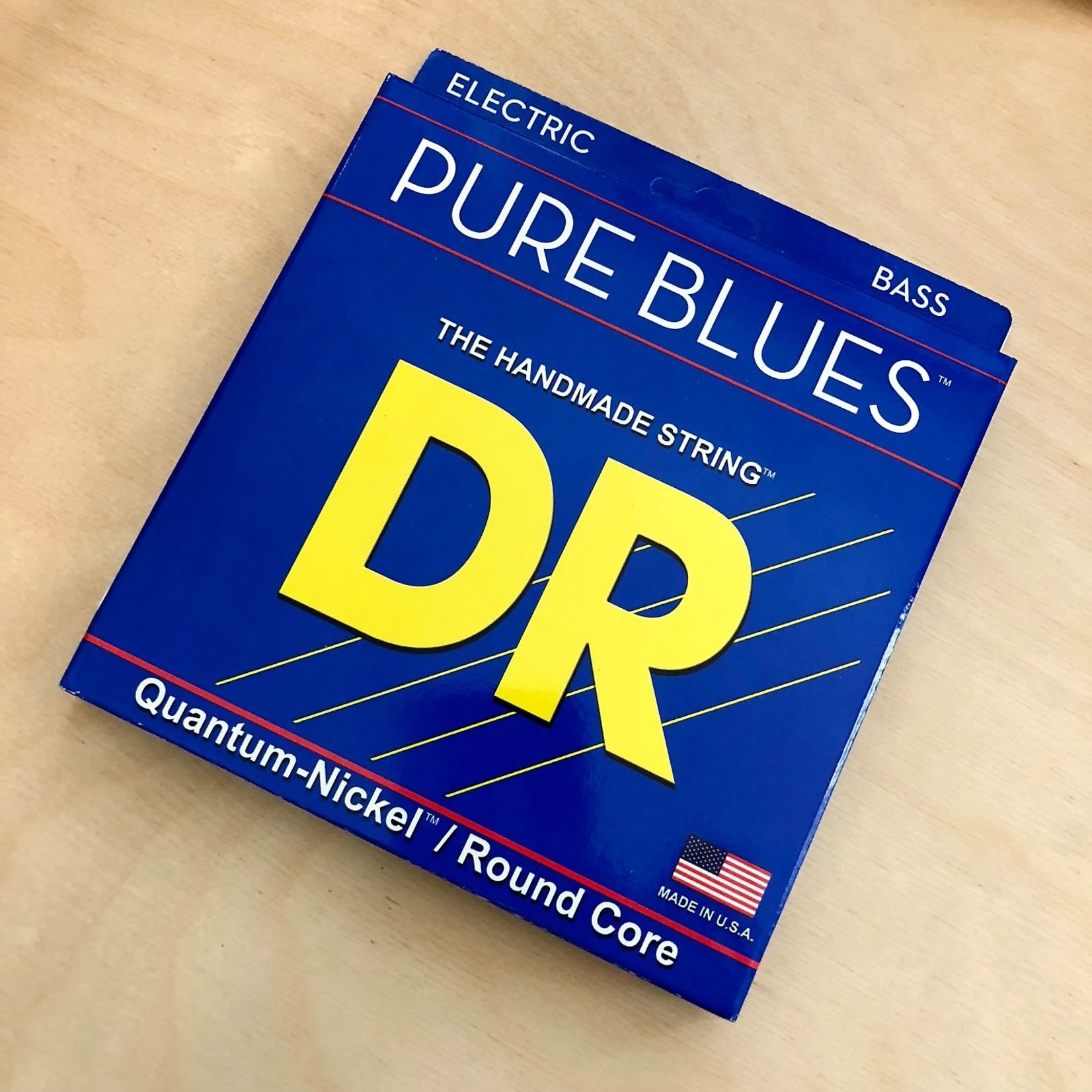 DR Strings DR Strings Pure Blues  Bass, Victor Wooten Signature Gauge Set (40 55 75 95), Quantum-Nickel