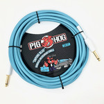 "Pig Hog Pig Hog ""Daphne Blue"" 20-Foot Vintage Instrument Cable - 1/4 Straight-Straight (PCH20DB)"