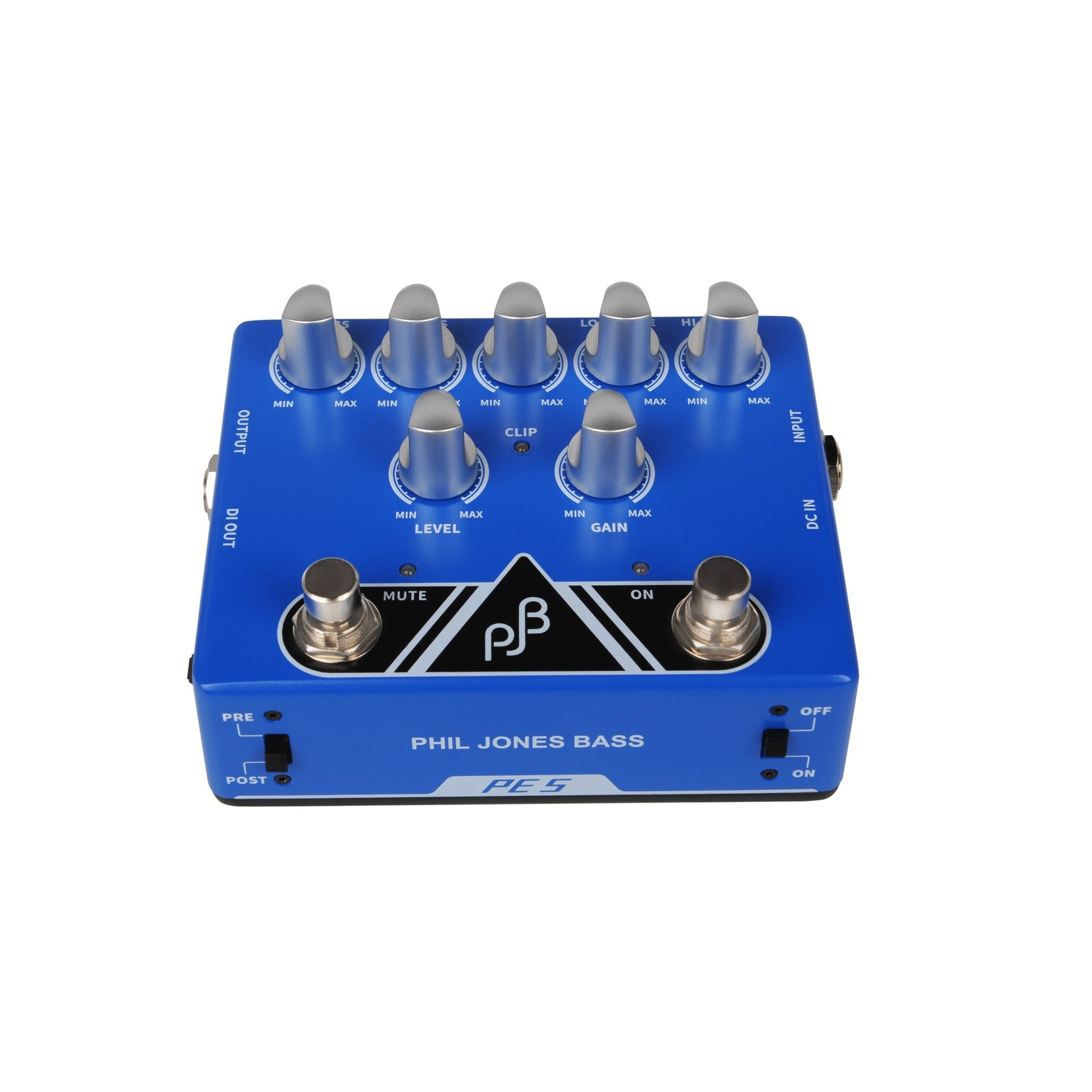Phil Jones Phil Jones Bass PE-5 Pedal,  5-Band EQ Pre-Amp, Direct Box, Signal Booster