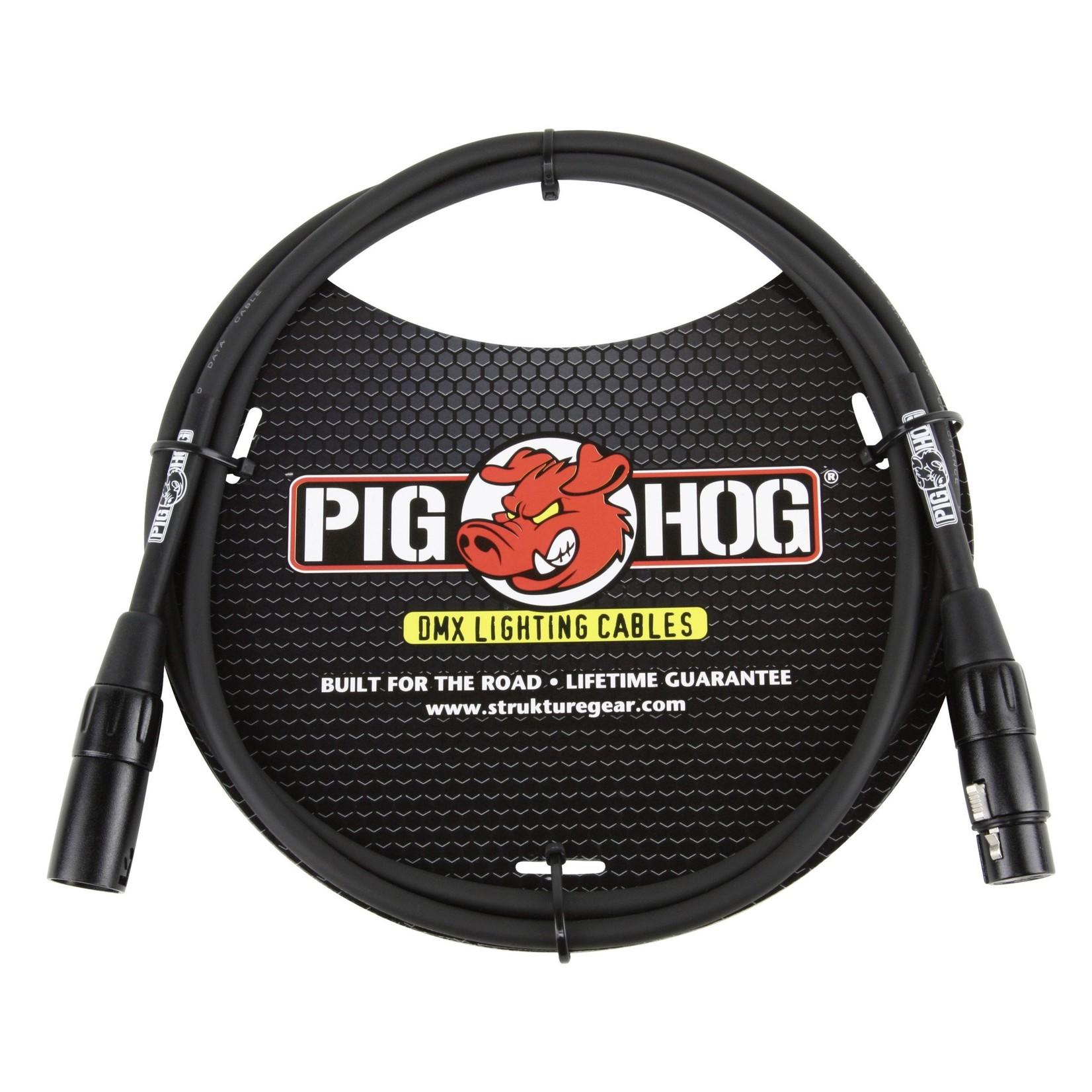 Pig Hog Pig Hog 5-foot, 3-Pin DMX Lighting Cable (PHDMX5)