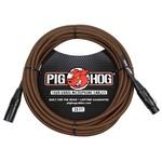 Pig Hog Pig Hog Black & Orange Tour Grade Woven Mic Cable, 20ft XLR (PHM20ORG) (20', 20-foot)