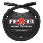 Pig Hog Pig Hog 8mm Tour Grade Microphone Cable, 6ft XLR (PHM6) Black (6', 6-foot)