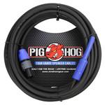 """Pig Hog Pig Hog 25-foot Tour Grade Speaker Cable, Speakon to 1/4"""", 9.2mm, 14 gauge wire (PHSC25S14)"""