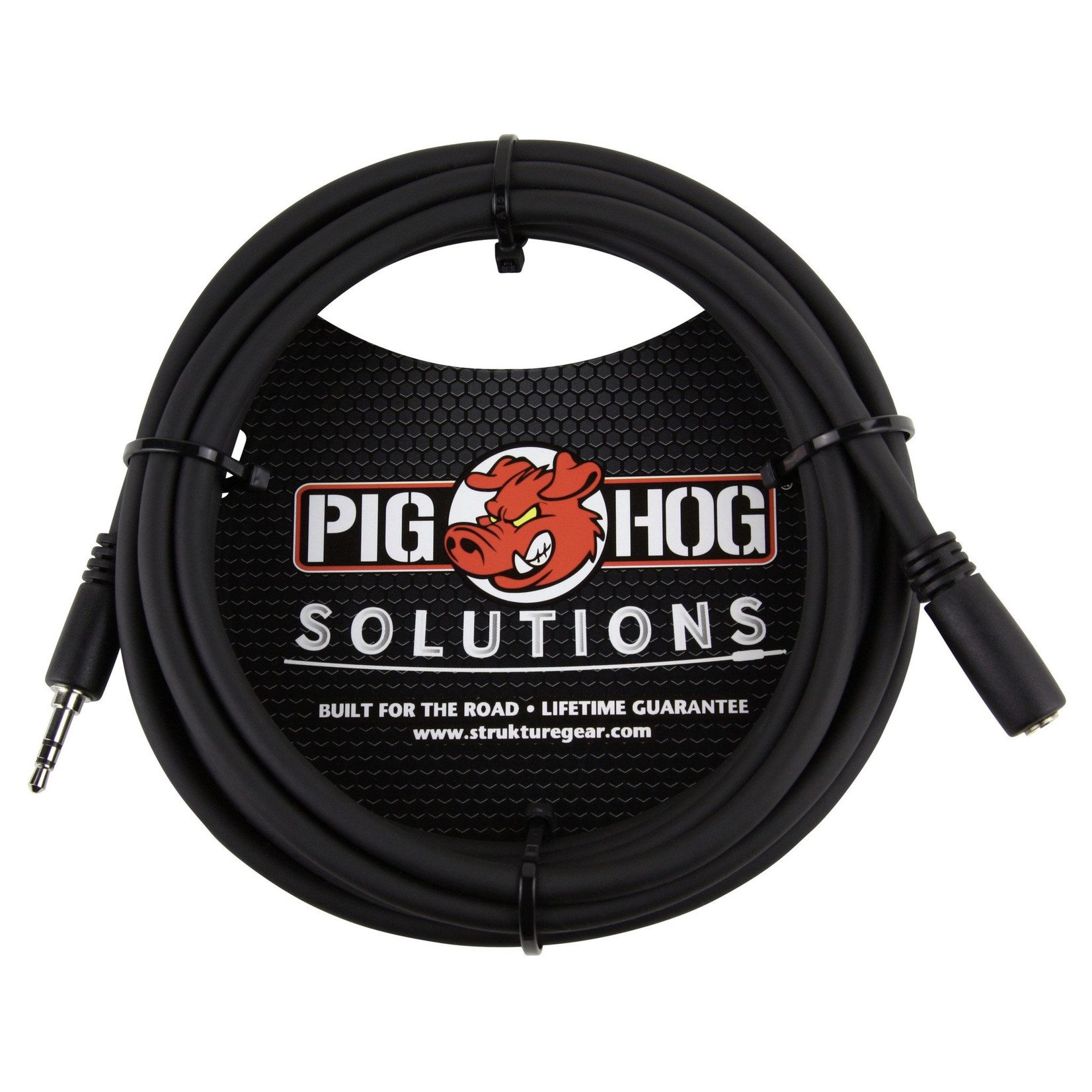 Pig Hog Pig Hog Solutions 10FT Headphone Extension Cable, 3.5mm (M to F),  PHX35-10