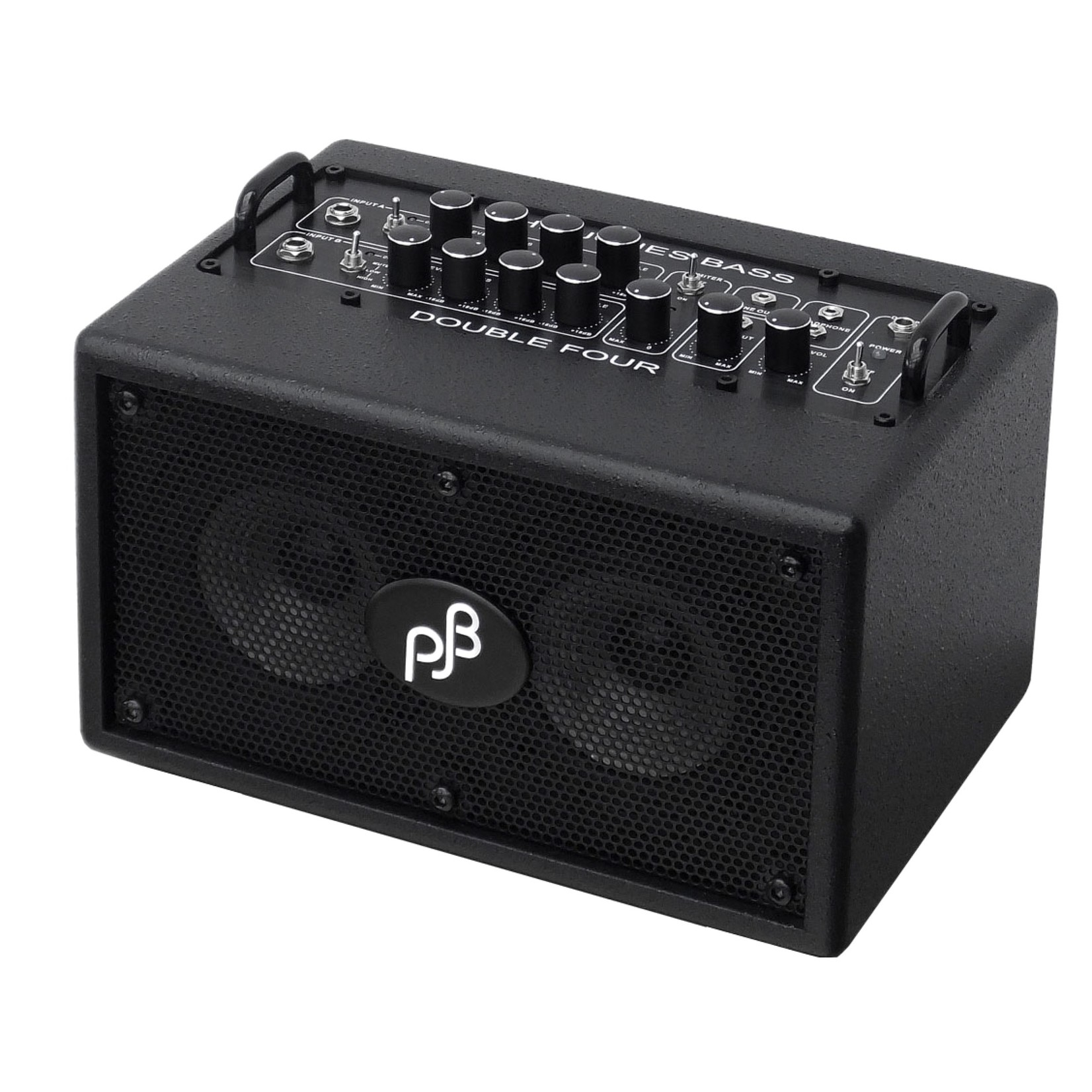 "Phil Jones Phil Jones BG75-B Bass Double Four 70-Watt 2x4"" Micro Bass Combo Amp, Black"