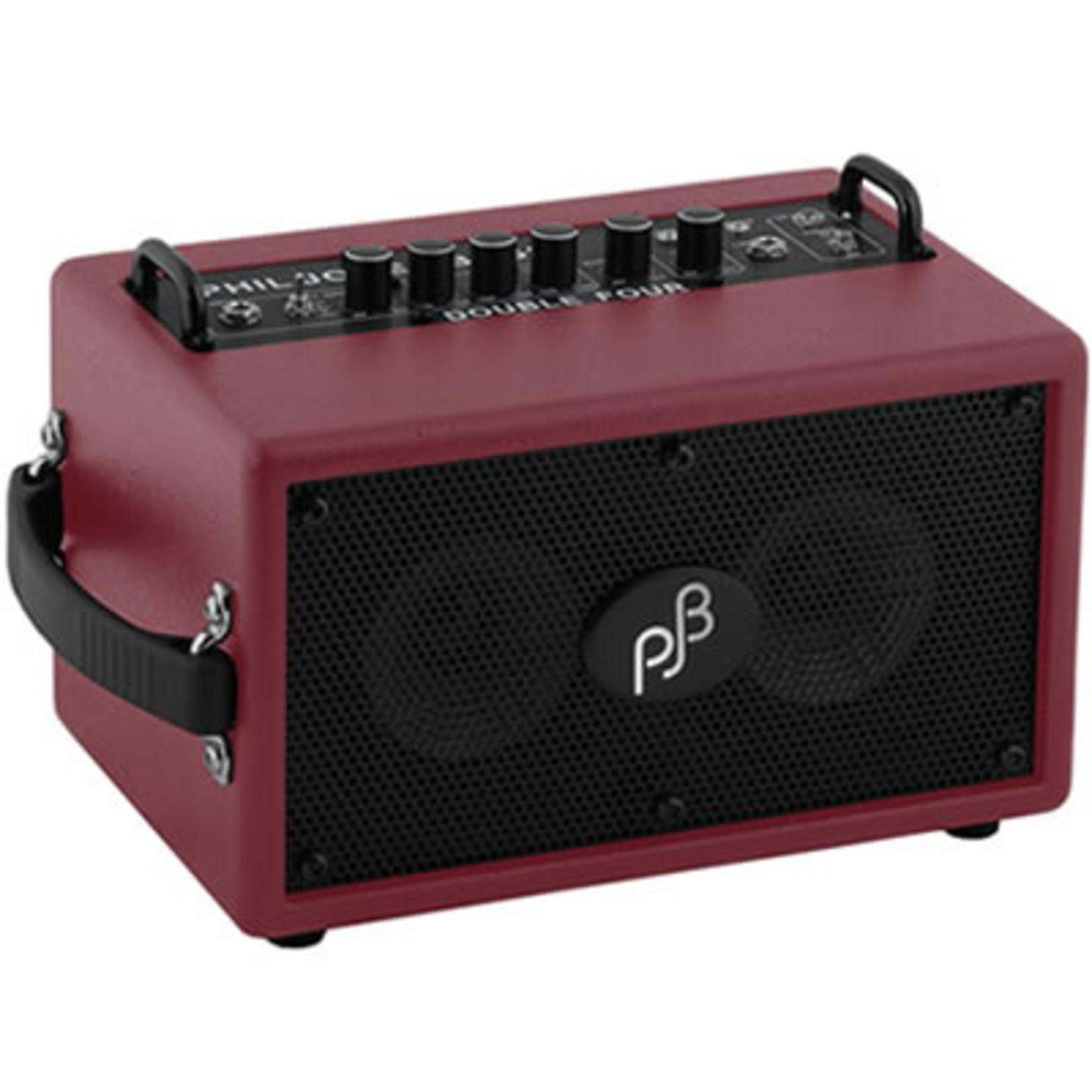 "Phil Jones Phil Jones BG75-R Bass Double Four 70-Watt 2x4"" Micro Bass Combo Amp, Red"