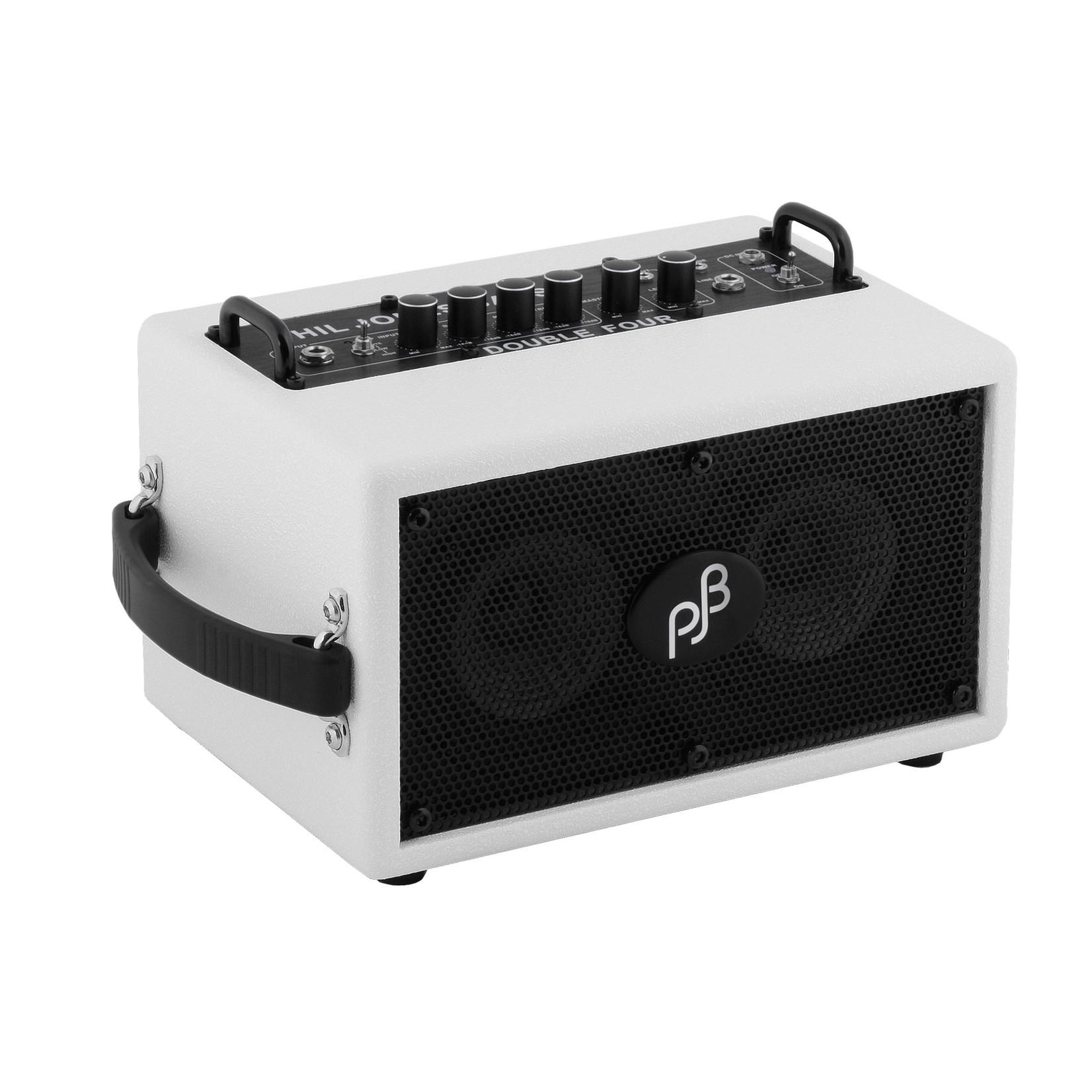 """Phil Jones Phil Jones BG75-W Bass Double Four 70-Watt 2x4"""" Micro Bass Combo Amp, White"""