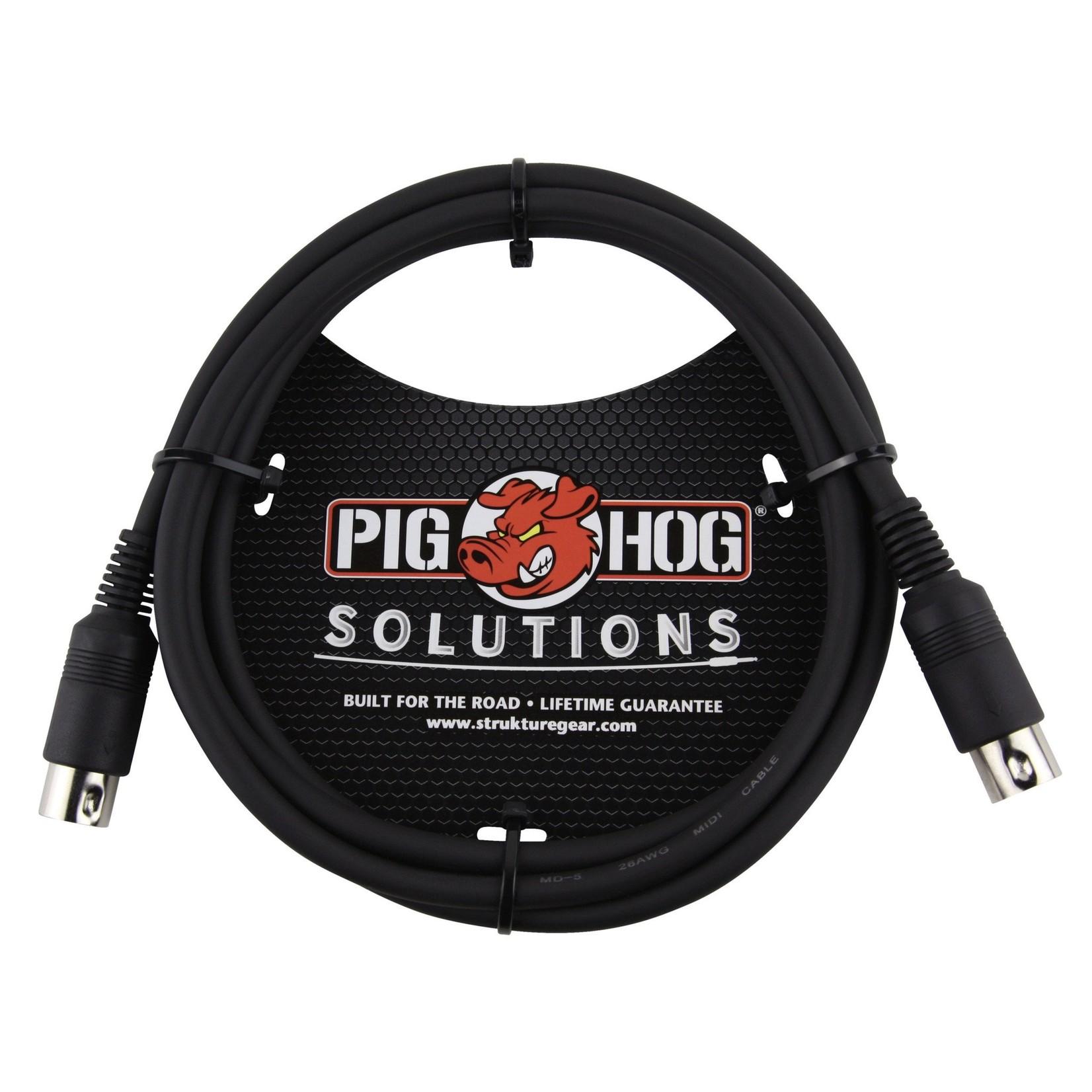 Pig Hog Pig Hog Solutions 6-foot MIDI cable (PMID06)