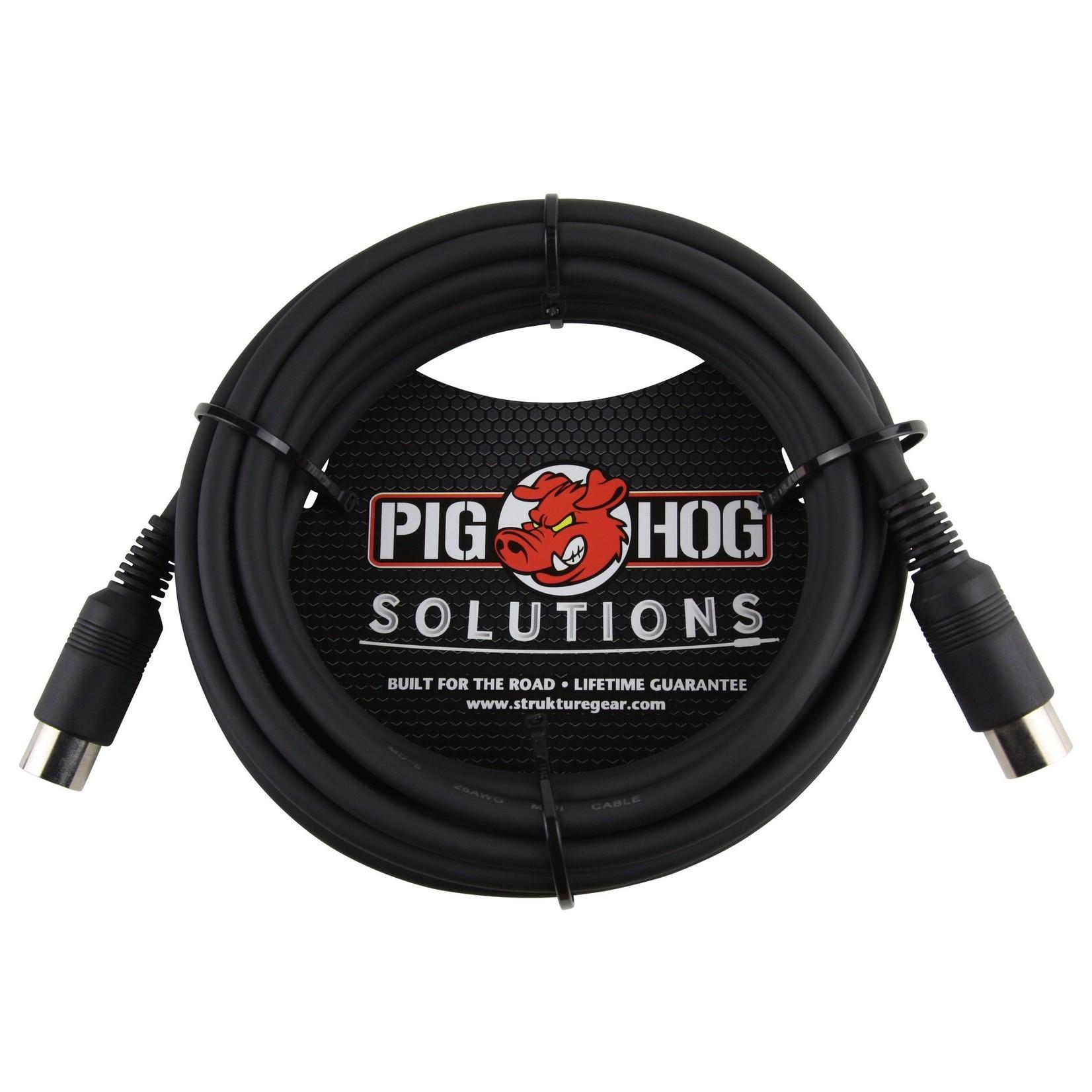 Pig Hog Pig Hog 15-Foot Tour Grade MIDI Cable, Heavy Duty