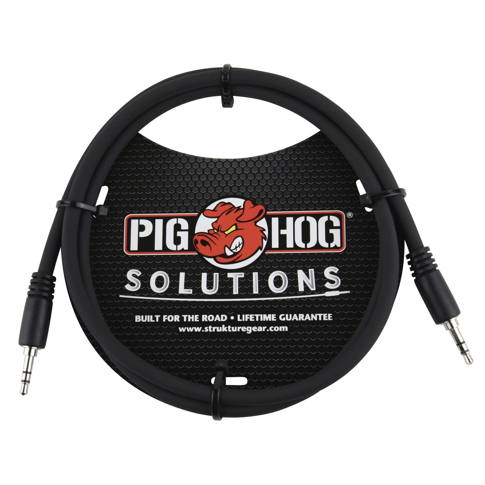 Pig Hog Pig Hog Solutions 3.5mm TRS to 3.5mm TRS, 3 ft (PX-T3503)
