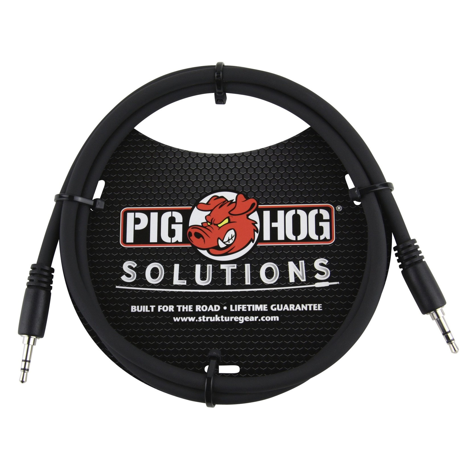 Pig Hog Pig Hog Solutions 3.5mm TRS to 3.5mm TRS, 6-foot cable, PX-T3506
