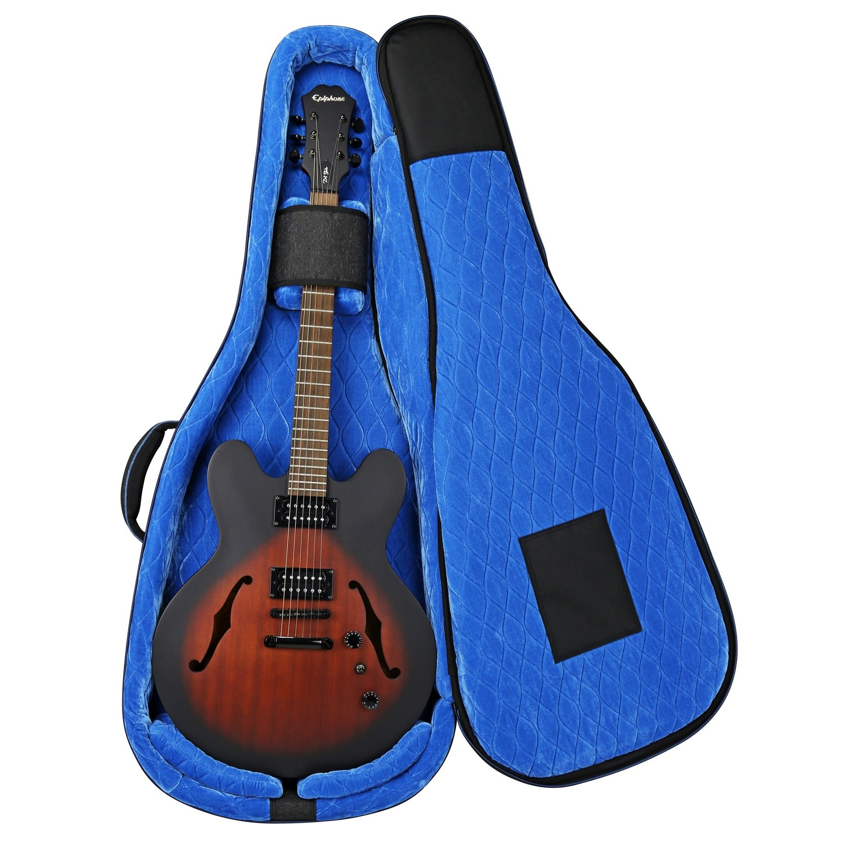 Reunion Blues Reunion Blues RB Continental Voyager Semi-Hollow Body Electric Guitar Case (Gig bag, hybrid, RBCSH)