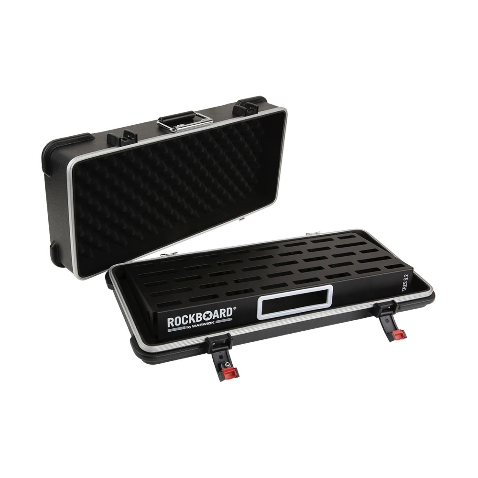 Rockboard RockBoard TRES 3.2, Pedalboard with ABS (Hardshell) Case - Preferred Dealer!