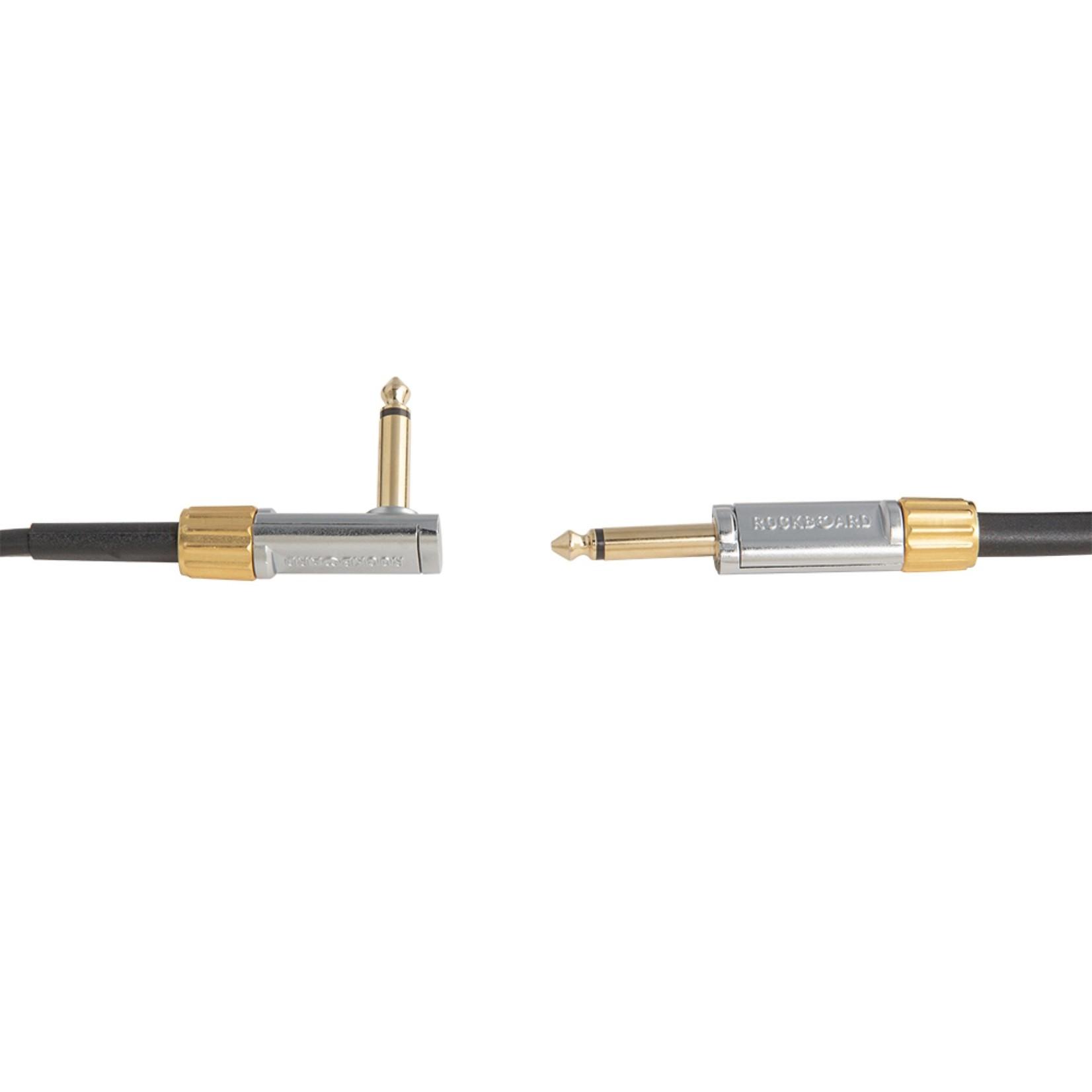 Rockboard RockBoard PREMIUM Flat Instrument Cable, 300 cm / 9.8 ft., straight/angled