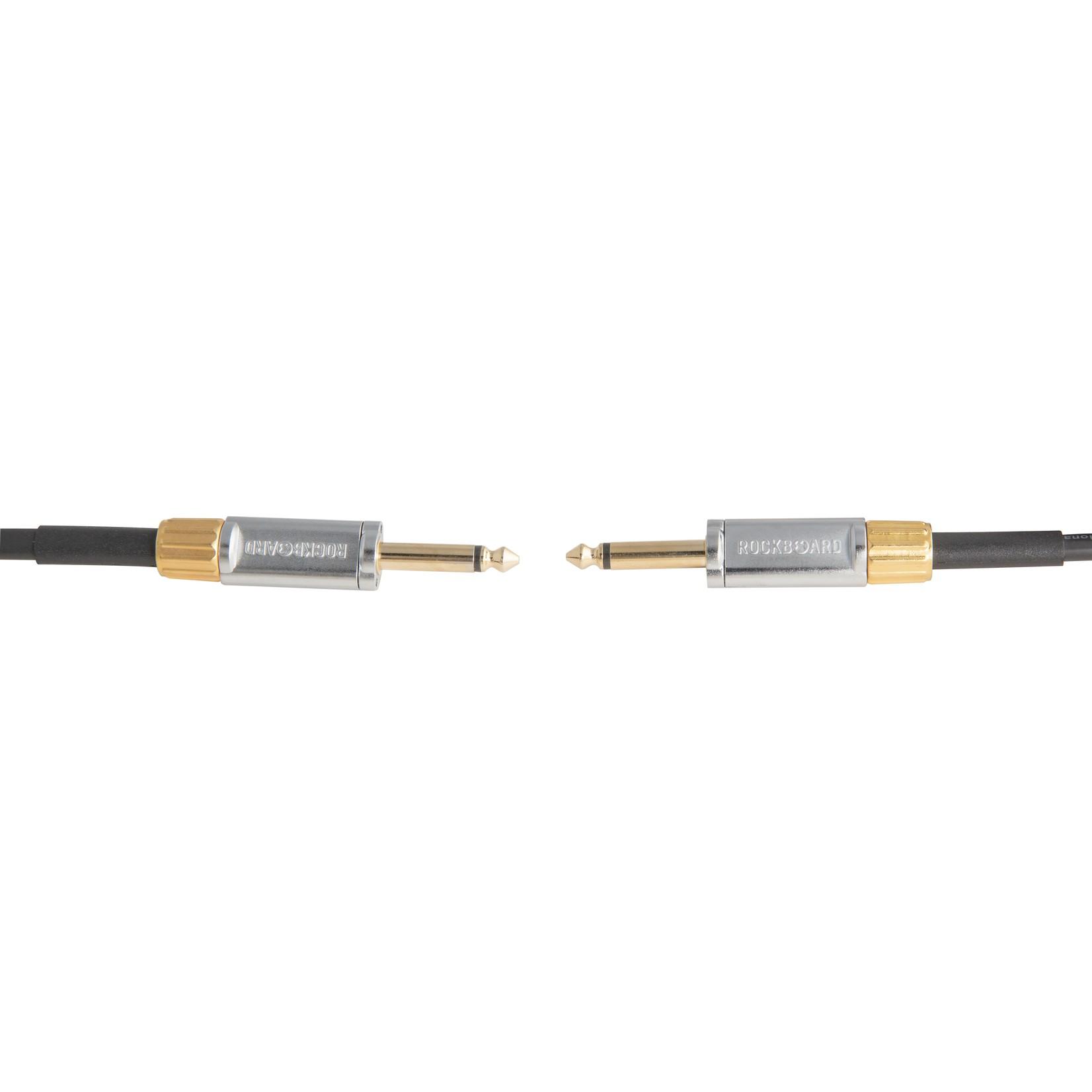 Rockboard RockBoard PREMIUM Flat Instrument Cable, 300 cm / 9.8 ft., straight/straight