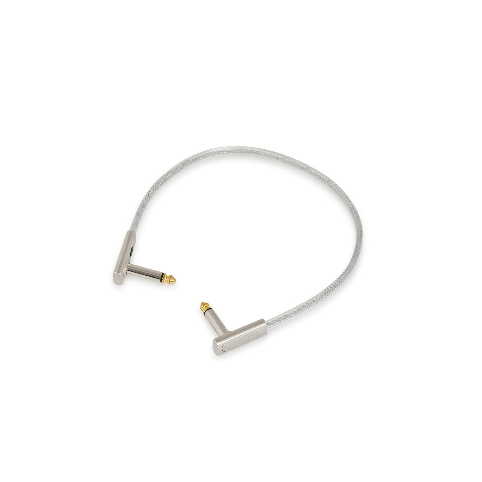 "Rockboard Rockboard Sapphire Series Flat Patch Cable, 30 cm / 11 13/16"" (RBO CAB PC F 30 SP)"