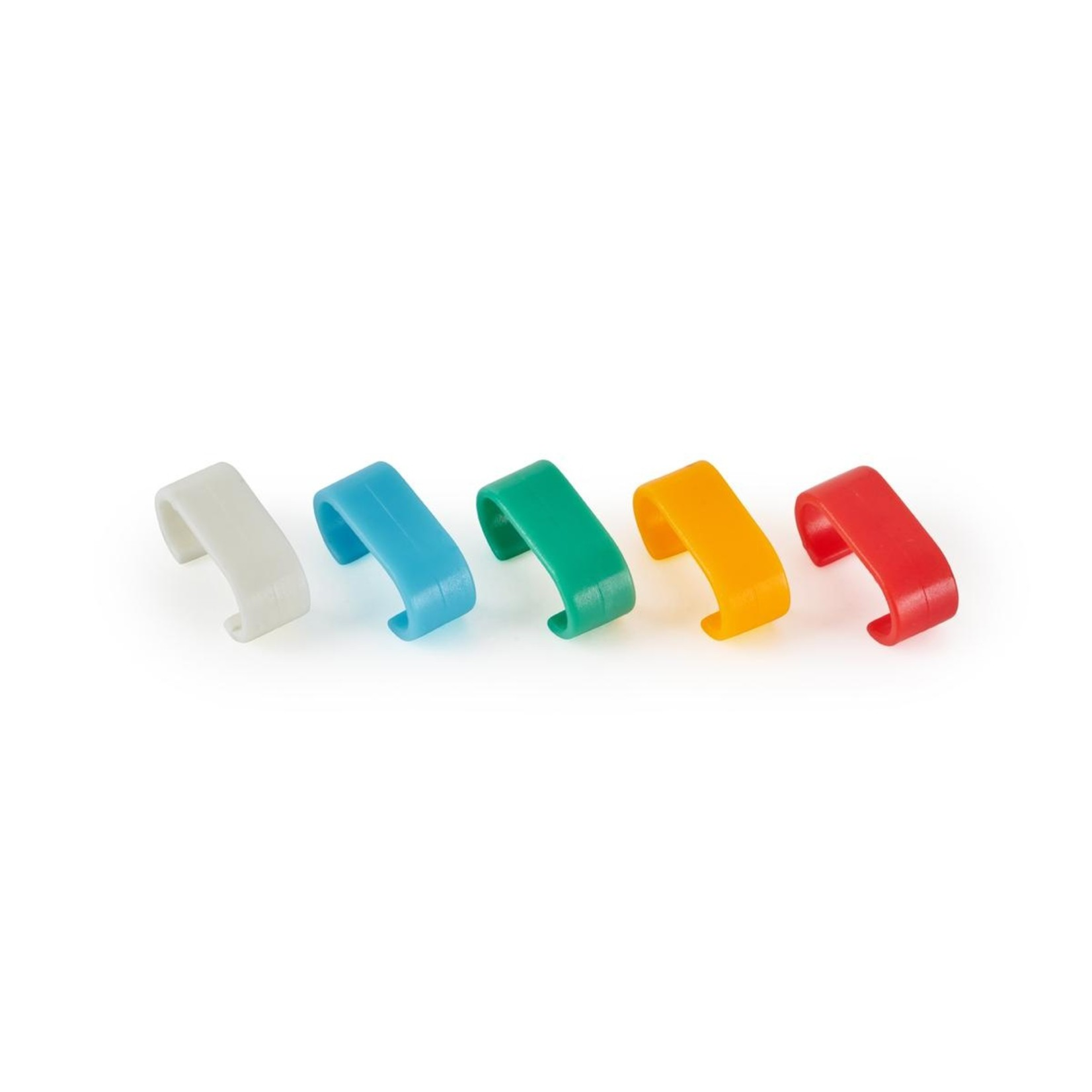 Rockboard RockBoard Color Code Rings for Flat Patch Cables - 10 pieces, 5 Colors (2 of each color)