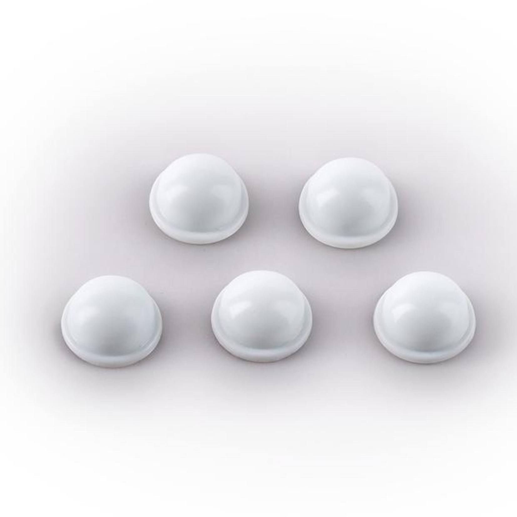 Rockboard Rockboard LED Dampers, Small 8mm (package of 5 refractive domes) - Dim your bright pedal lights!