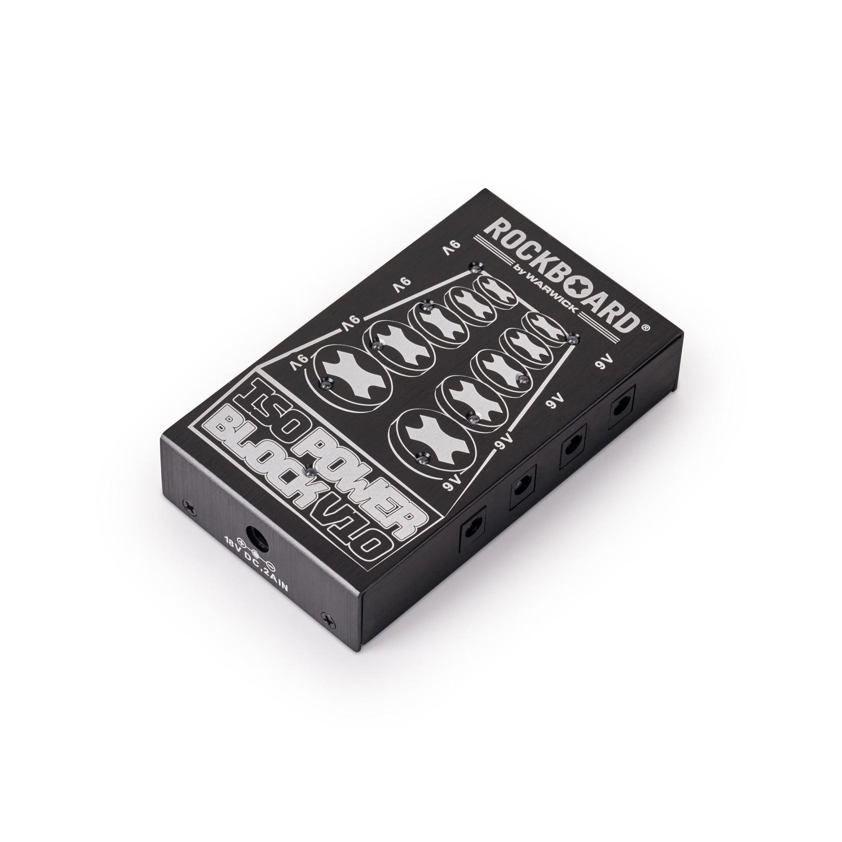 Rockboard Rockboard ISO Power Block V10 Isolated & Filtered Power Supply (8x 9v   2x 18V   cables)