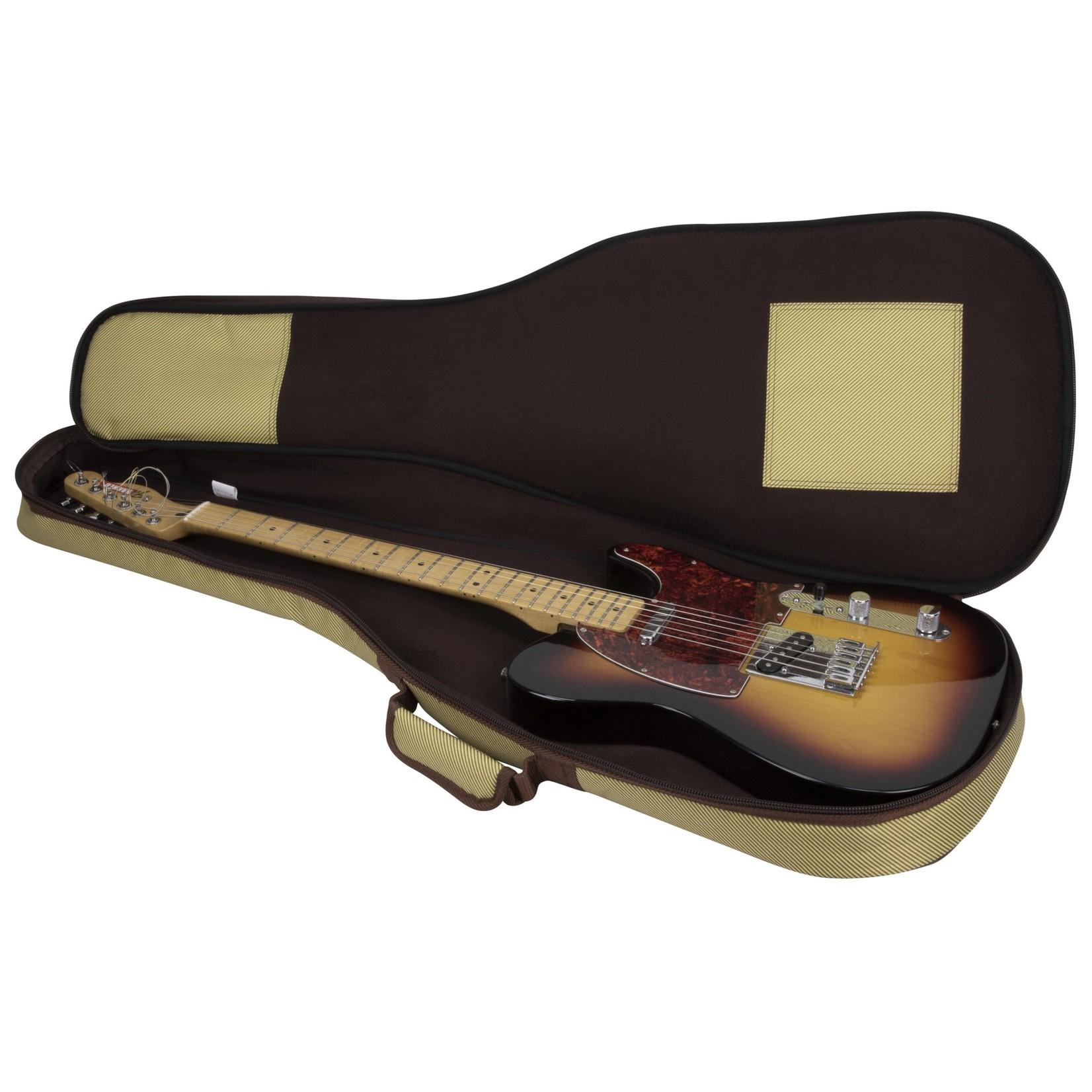 Kaces Kaces Gigpak Electric Guitar Gig Bag - Tweed (vintage vibe!)