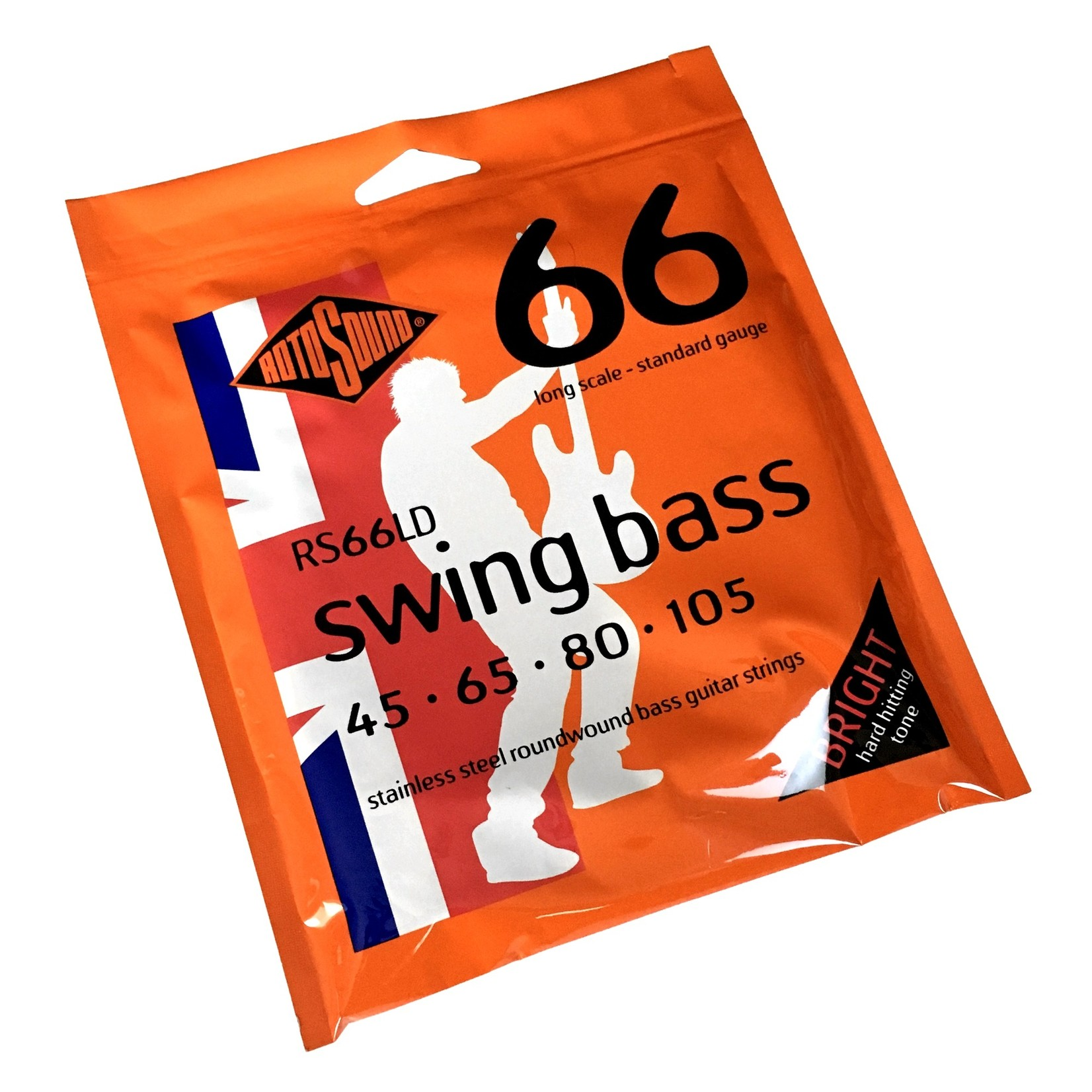Rotosound Rotosound RS66LD Swing Bass 66 Stainless Steel Roundwound Strings (45-105)