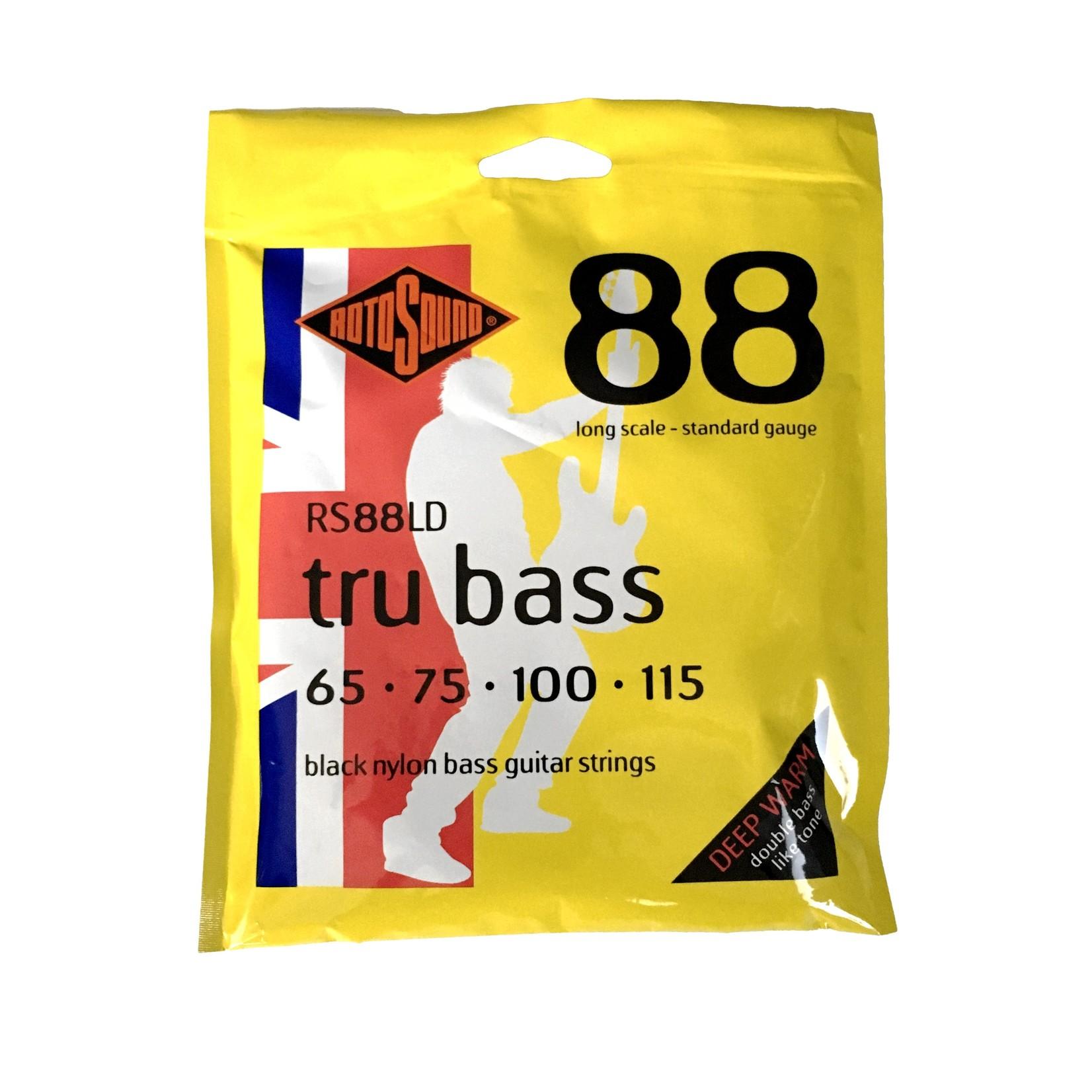 Rotosound Rotosound RS88LD 88 Tru Bass Black Nylon Bass Guitar Strings