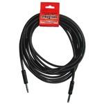 Strukture Strukture SC186W 18.6FT (18.6 feet, 18.6') Woven Guitar/Instrument Cable, Black