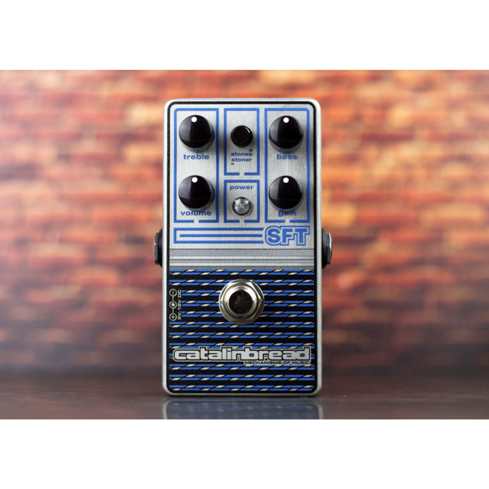 Catalinbread Catalinbread SFT Ampeg-Inspired Foundational Overdrive - New Metallic Sapphire Finish for 2021!