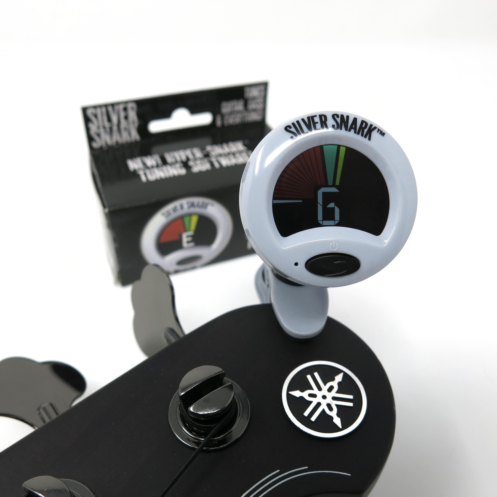Snark Snark Silver Snark Tuner for  Guitar, Bass, and All Instruments - NEW! Tune faster, stronger, longer