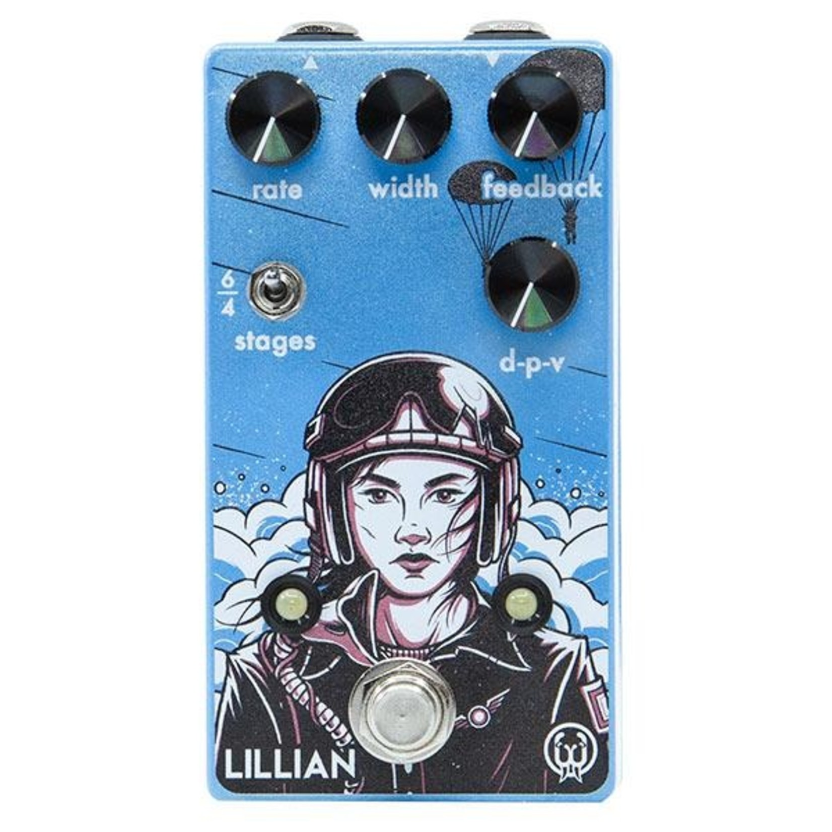 Walrus Audio Walrus Audio Lillian Analog Multi-Stage Phaser