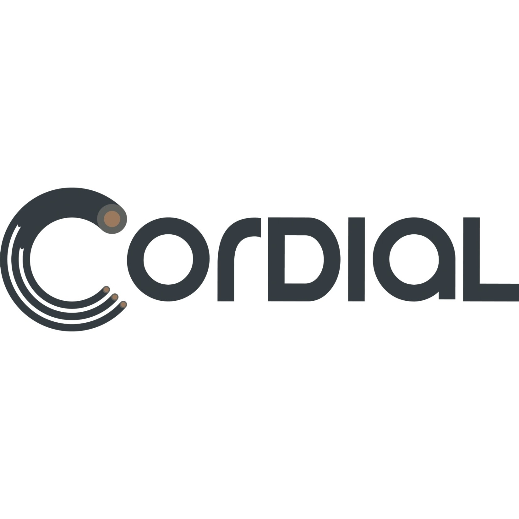 """Cordial Cables Cordial Cables Balanced 1/8"""" (Mini Plug) Cable - 1/8-inch TRS to 1/8-inch TRS: 10-Foot White, Essential Series"""
