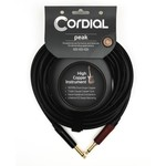 Cordial Cables Cordial 3m / 10-foot High-Copper Premium Instrument Cable - 1/4'' Straight to 1/4'' Straight SILENT