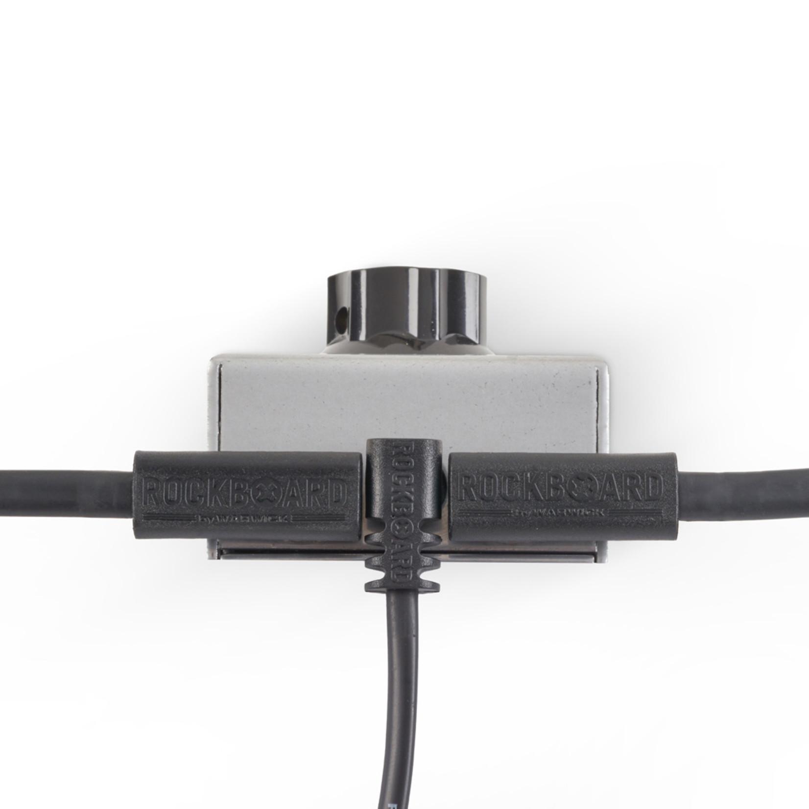 "Rockboard RockBoard Flat Power Cable - Angled/Straight - 15 cm / 5 29/32"""