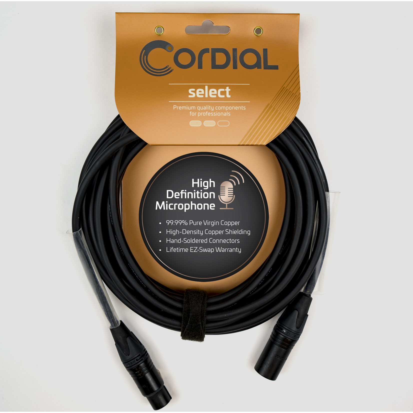 Cordial Cables Cordial Cables 16-Foot Premium Microphone (XLR) Cable, Select Series (5 FM)